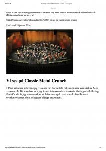 Perc Concerto_krönika_Gävle Dagblad_28jan2014